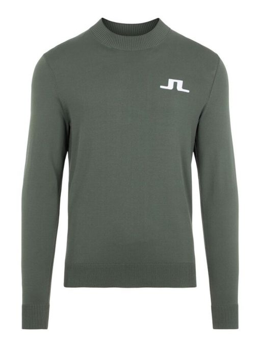 J.Lindeberg Gus Golf Sweater Thyme Green