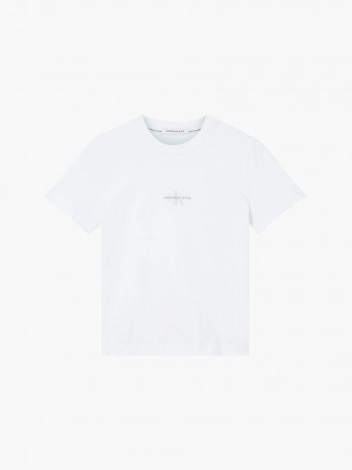 Calvin Klein Organic Cotton Logo T-shirt Bright White