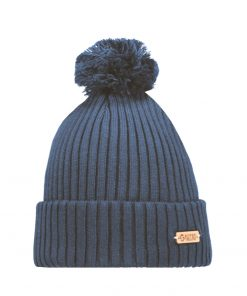 Superyellow Kide Beanie Steel Blue