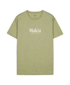 Makia Strait T-shirt Light Blue