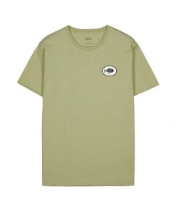 Makia Bream T-shirt Light Green