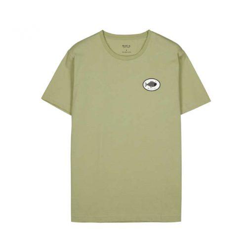 Makia Bream T-shirt Light Green