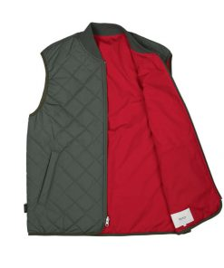 Makia Base Reversible Vest Thyme