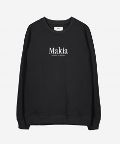 Makia Strait Sweatshirt Black