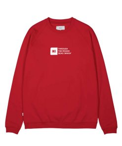 Makia Flint Light Sweatshirt Red
