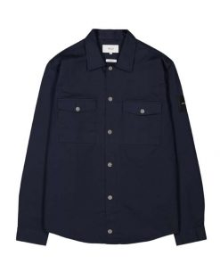 Makia Harper Overshirt Dark Navy