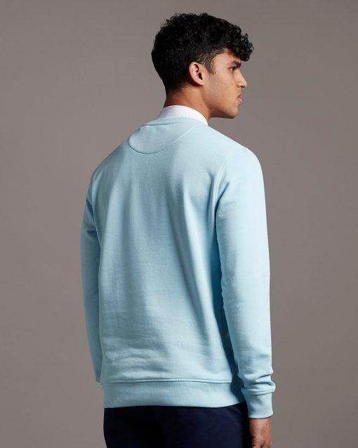 Lyle & Scott Crew Neck Sweatshirt Deck Blue