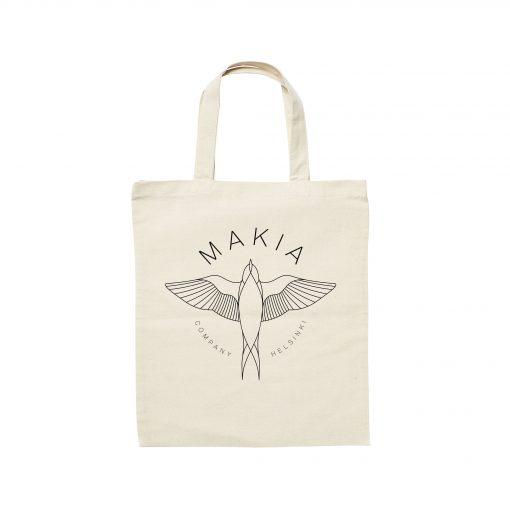 Makia Swallow Tote Bag White