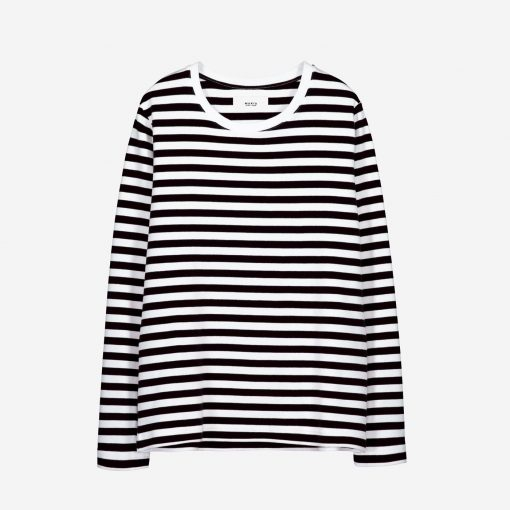 Makia Verkstad Longsleeve Women Black/White