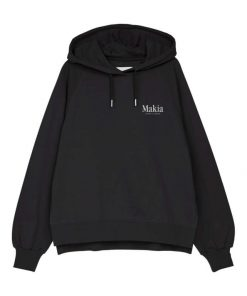 Makia Key Hooded Sweatshirt Black
