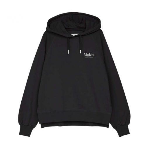 Makia Key Hooded Sweatshirt Black