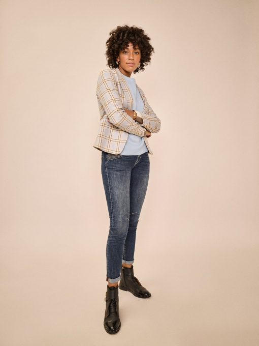 Mos Mosh Nelly Reloved Jeans Blue