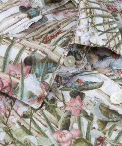 Sofie Feminine Shirt Palm Green