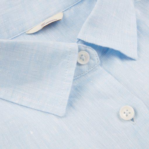 Stenströms Sofie Linen Shirt Light Blue