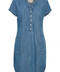 Part Two Aminas Dress Light Blue Denim