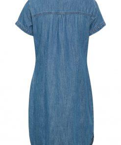 Part Two Aminas Dress Light Blue Denim