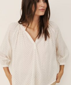 Part Two Erdonae Blouse Eggnog