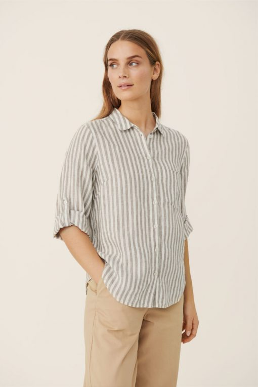 Part Two Cindie Shirt Vetiver
