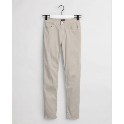Gant Woman Color Pant Putty