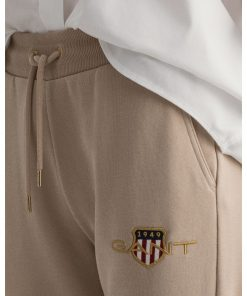 Gant Woman Archive Shield Sweatpants Dry Sand