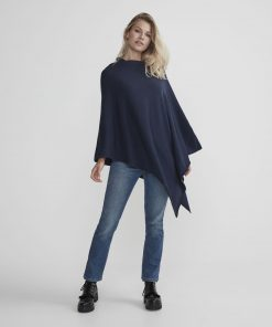 Holebrook Sofie Poncho Navy