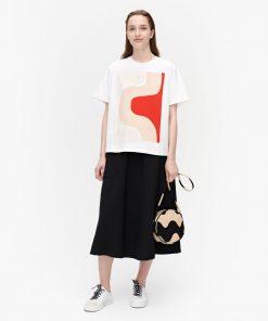 Marimekko Vaikutus Seireeni T-shirt White