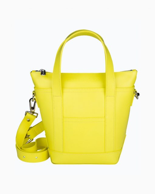 Marimekko Milli Matkuri Lea Bag Neon Yellow