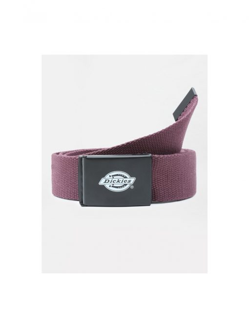Dickies Orcutt Logo Buckle Belt Wine