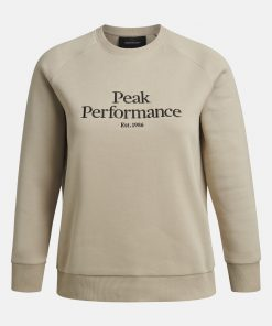Peak Performace Original Crew Women Celsian Beige