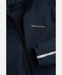 Peak Performance Coastal Jacket Woman Blue Shadow