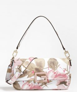Guess Brightside Shoulder Bag Floral Fantasy