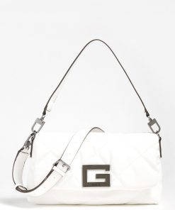 Guess Brightside Shoulder Bag White