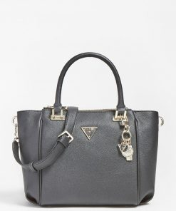 Guess Destiny Status Satchel Black
