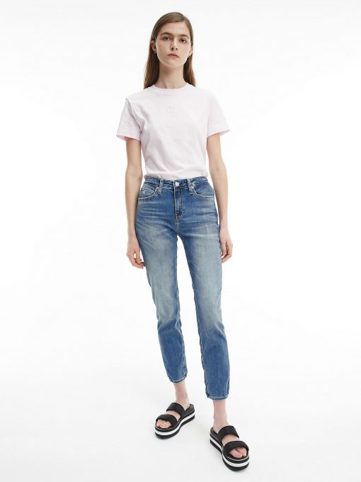 Calvin Klein Organic Cotton Logo T-shirt Pearly Pink