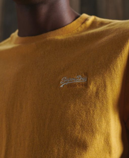 Superdry Vintage Embroidery T-shirt Upstate Gold Marl