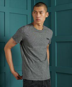 Superdry Vintage Embroidery T-shirt Karst Black Mega Grit