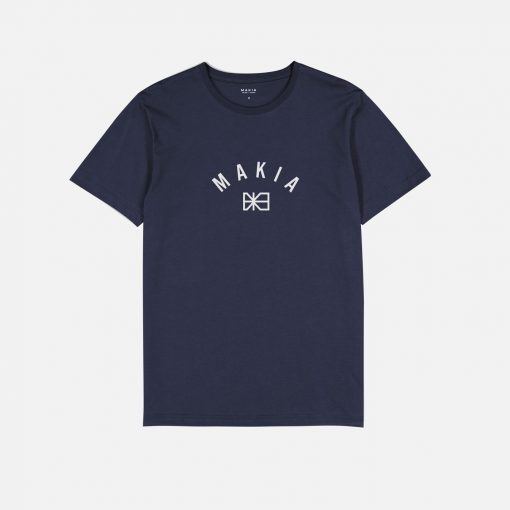 Makia Brand T-shirt Dark Blue