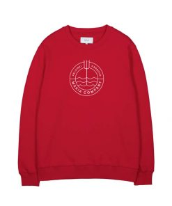 Makia Trident Light Sweatshirt Red