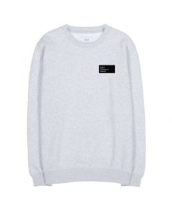 Makia Pontus Light Sweatshirt Light Grey