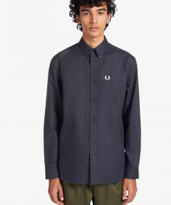Fred Perry Oxford Shirt Navy