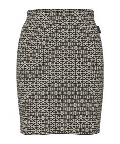 Holebrook Amira Skirt Navy/Almond
