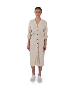 Makia Kielo Dress Light Beige