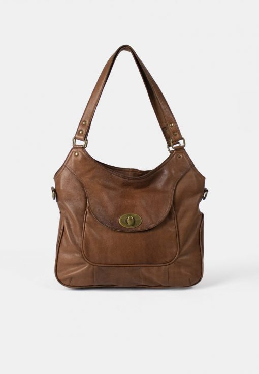 RE:DESIGNED Abeline Urban Large Bag Walnut