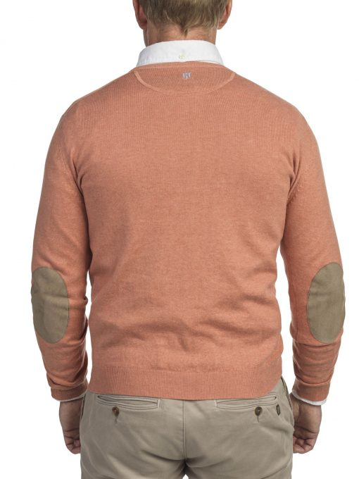 Hansen & Jacob Cotton Cashmere Crewneck Red