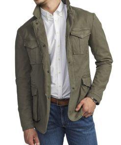 Hansen & Jacob Cotton Blaze Jacket Green