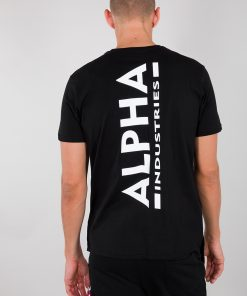 Alpha Industries Backprint T Black