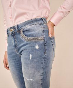 Mos Mosh Bradford Mercury Jeans Light Blue