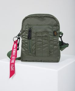 Alpha Industries Crew Carry Bag Sage Green