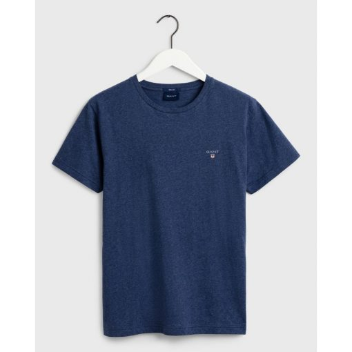 Gant The Orginal T-Shirt Marine Melange