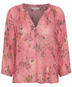 Part Two Erdonae Blouse Paisley Flower/Desert Rose